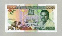 1 000 Shilingi Tansania Pick 22
