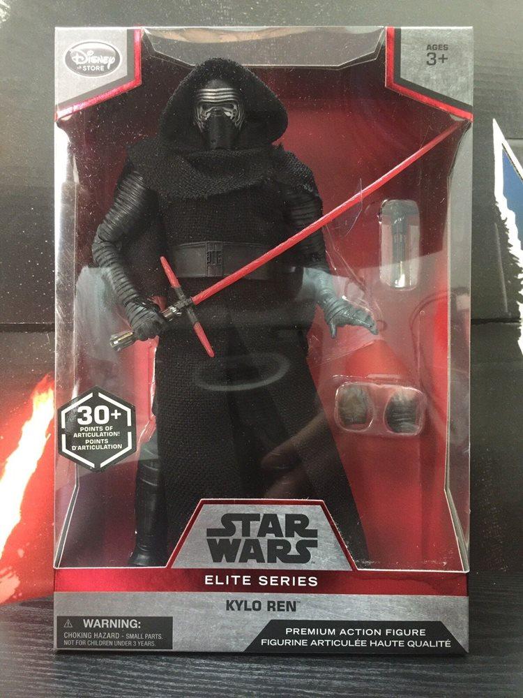 """Star Wars Kylo Ren Elite Series 6/"""" Figures Disney Store New"""