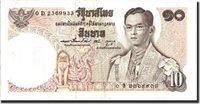 10 Baht Thailand Banknote, 1969-06-24, Km:81