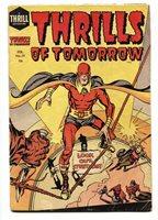 Thrills Of Tomorrow #19 1955-origin Of Stuntman -Jack Kirby art | Comic Books - Golden Age, Harvey, Horror & Sci-Fi