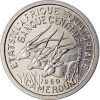 Afrique Équatoriale, 1 Franc, Essai