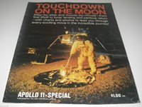 Touchdown on the Moom Apollo 11 Special 1969 New American Library Space Explore