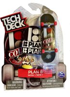 New Tech Deck 4 Pack PLAN B Skateboards Fingerboards Shecks Cole Series 3
