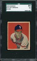 1949 Bowman Baseball #14 Curt Simmons SGC 7