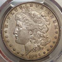 1894-S Morgan Dollar, Original Choice Almost Unc Coin