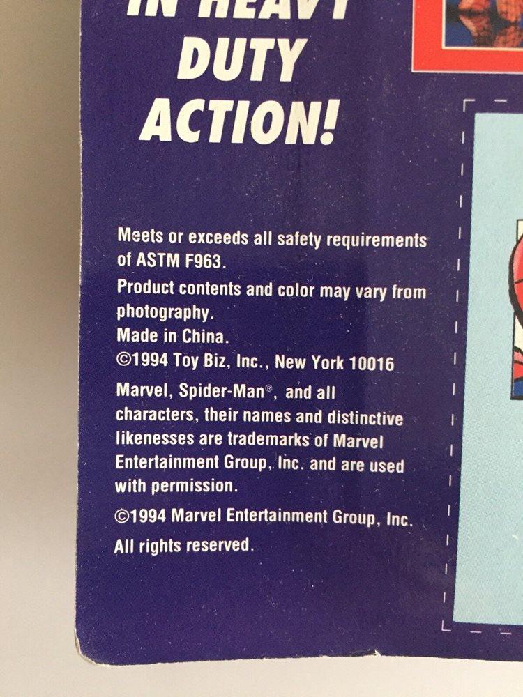 """Spider-Man Web of Steel """"Spider-Man Vs """"Hobgoblin"""" Die-cast 1994 Toy Biz  """"NIP"""""""