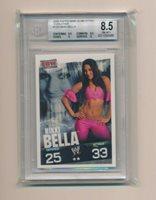 ECW Carte Catch Topps Slam Attax 2009 Evolution Brie Bella