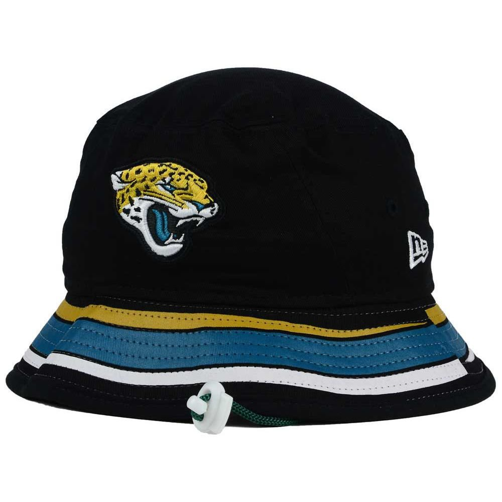b5c2b854300 Jacksonville Jaguars NFL Team Stripe Bucket New Era Tra