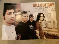 """Fall Out Boy poster - 24""""x34.5"""" - music (new, rolled)"""