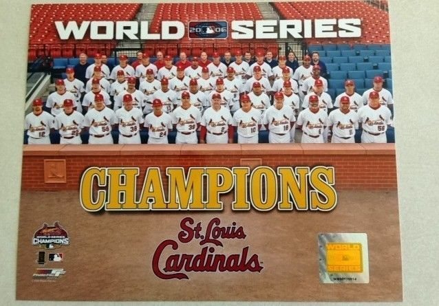 2006 World Series Champions 8x10 Photofile Photo Poster Click To Enlarge