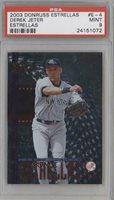 2003 Donruss Estrellas #E-4 Derek Jeter PSA 9 MINT New York Yankees Card