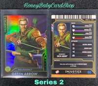 Injustice Arcade Series 1 Out of Print Card 3 Insurgency Deathstroke Holofoil