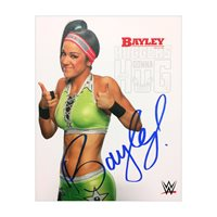 Bayley Signed WWE 8X10 Licensed Promo Photo PSA/DNA Quick Opinion