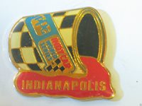 Indianapolis Race Track Pin PPG World Series Indy Racing (Collect them all)
