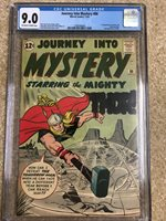 JOURNEY INTO MYSTERY #86 CGC 9.0 CLASSIC 4TH APP THOR