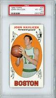 1969-70 Topps Basketball John Havlicek #20 (RC) PSA 4.5