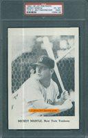 1962 Jay-Pub-2-62-65 Bat 1 Ear Mickey Mantle PSA 6mk - $200.00