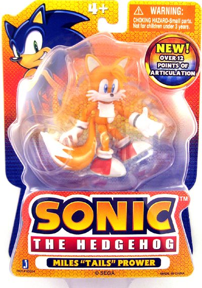 Tails Sonic The Hedgehog 3 Inch Action Figure Series