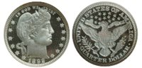 b-2758 Barber Half Dollar - 1905-O - G/VG 1
