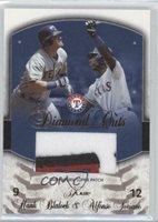 2005 Flair Diamond Cuts Super /20 Hank Blalock Alfonso Soriano (Patch) Patch