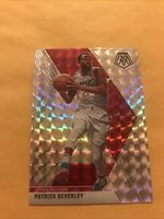 2020 Mosaic Patrick Beverley Los Angeles Clippers Silver Prism Free Shipping