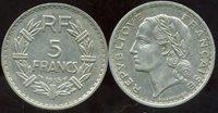 FRANCE 5 francs 1935 LAVRILLIER ( ca )