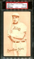 1980 HALL OF FAME EXHIBITS SEPIA NAP LAJOIE HOF POP 1 PSA 10 B2887560-989