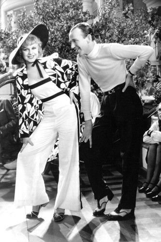 The Gay Divorcee Fred Astaire Ginger Rogers B&W 11x17 Mini Poster