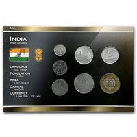 INDIA INDIAN KM40.1 1988-B UNC-BU MINT-UNCIRCULATED10 PAISE COIN