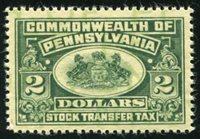 SRS PA ST63 1940 $2 green mint, VF