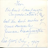 Movies Cards & Papers Jessica Walter Signed Index Card Signature Vintage Autographed Auto