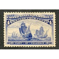 US 233 Early Commemoratives VF - XF H