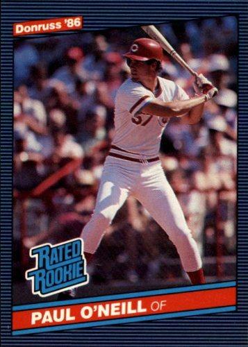 1986 Donruss Baseball Rookie Card 37 Paul Oneill Mint