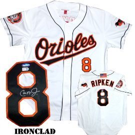 new concept dd786 2d980 Cal Ripken Jr. Hand-Signed Jersey With Certificate Of Authenticity