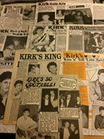 Kirk Cameron, Lot of TEN Full Page Vintage Clippings