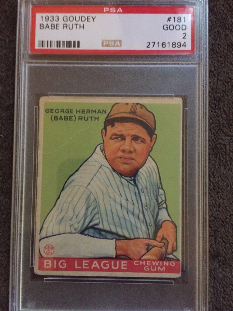 Ebay Auction Item 253146288744 Baseball Cards 1933 Goudey