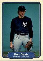 1982 Fleer 32 Ron Davis Yankees Nmmt