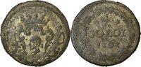 4 Soldi 1767 Murato Italy Staaten Coin, Corsica, General Pasquale Paoli, Murato Billon