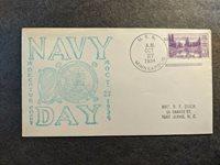 USS MINNEAPOLIS CA-36 Naval Cover 1934 NAVY DAY Cachet Phila, PA