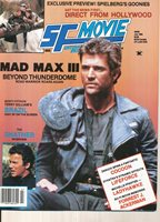 SF MOVIE ENTERPRISE INCIDENTS MAGAZINE JULY 1985 MAD MAX III (GOOD CONDITION)