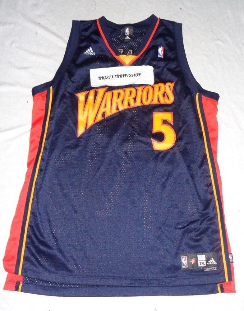 f690908a7 Baron Davis  5 Golden State Warriors Adidas NBA Basketb