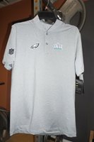 0e3cd857450 Nike Philadelphia Eagles Super Bowl 52 LII Media Night Player Polo FOLES!  Sz XL