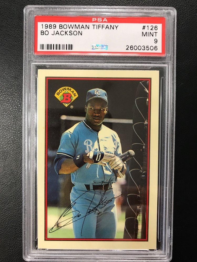 Ebay Auction Item 332353807543 Baseball Cards 1989 Bowman