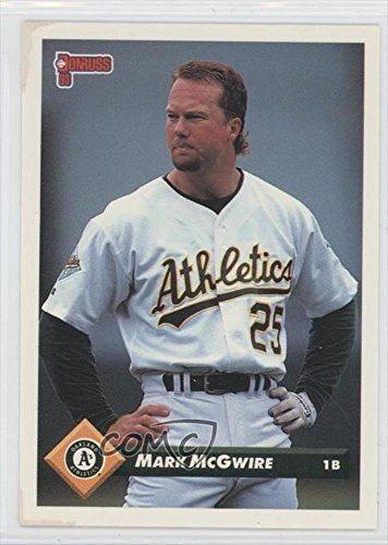 Mark Mcgwire Baseball Card 1993 Donruss 479