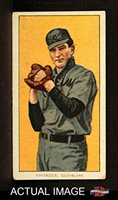 1909 T206 CHS Bob Rhoades Cleveland Naps (Indians) (Baseball Card) (Hands are at his Chest) Dean's Cards 3 - VG