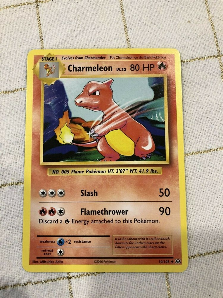 XY EVOLUTIONS CHARMELEON 10//108 UNCOMMON Pokemon