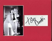 Tony Curtis Autographed Photo - Some Like It Hot Display W Marilyn Monroe - Autographed NFL Photos