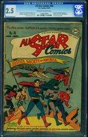 All Star Comics #36 CGC 2.5 1947 Batman and Superman cover-DC 1168370001