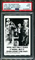 1964 THE MUNSTERS #30 MOM, NOT ONLY DOES POP 15 PSA 9 N2659722-857