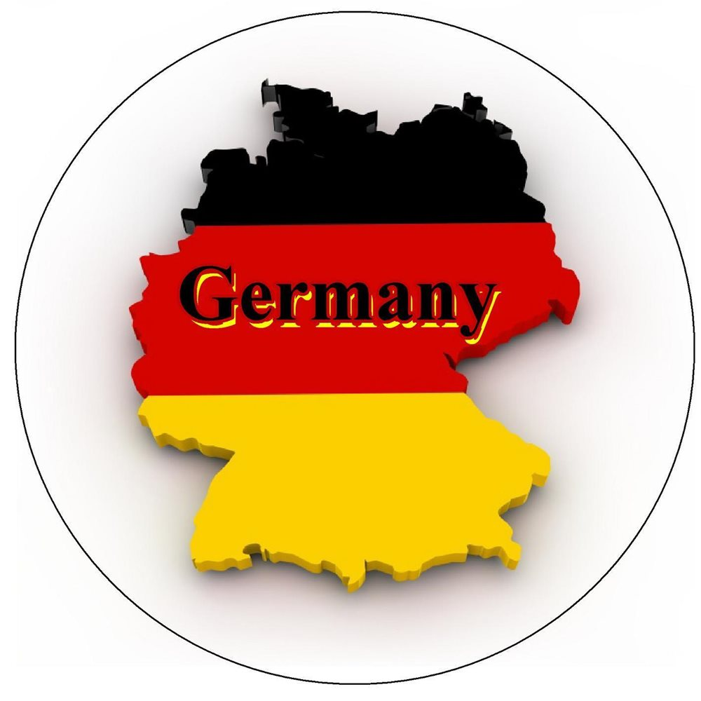 GERMANY MAP / FLAG - ROUND SOUVENIR NOVELTY FRIDGE MAGNET - SIGHTS on south sudan flag and map, england flag and map, slovakia flag and map, mozambique flag and map, british flag and map, iran flag and map, kuwait flag and map, france flag and map, arizona flag and map, malaysia flag and map, israel flag and map, syria flag and map, belize flag and map, portugal flag and map, zambia flag and map, chad flag and map, china flag and map, ireland flag and map, lebanon flag and map, ukraine flag and map,